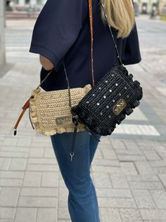 RED(V)'s iconic Rock Ruffle bag