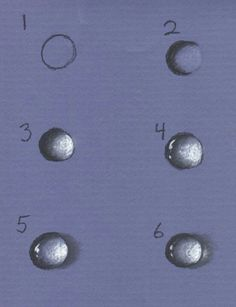 Drawing droplets