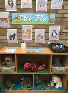Outside role play - the zoo Dramatic Play Area, Dramatic Play Centers, Zoo Activities Preschool, Preschool Activities, Dear Zoo Eyfs, Jungle Theme Crafts, Role Play Areas, Play Based Learning, Zoology