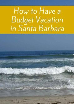 Yes, Santa Barbara is an upscale oceanfront town, yet there are inexpensive things to do there. Here's how to have a budget vacation in Santa Barbara. Santa Barbara California, California City, California Travel, Northern California, California Destinations, Top Travel Destinations, Budget Travel, San Francisco Travel, Beach Trip
