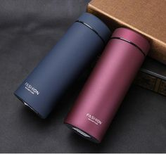 500 Ml Stainless Steel Travel Mug Water Coffee Bottle Flask Vacuum Thermos Cup
