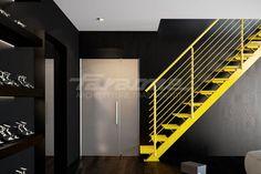 ESSENZA 1 Открытая лестница by FARAONE дизайн Matteo Paolini