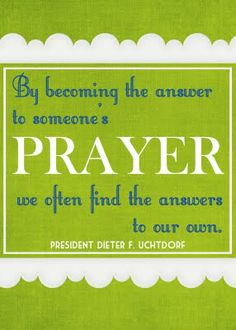 sugartotdesigns: {free printable} quote by president dieter f. uchtdorf