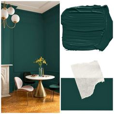 Color Pantone Night Watch 2019 – All For Decoration Trending Paint Colors, Paint Colors For Home, House Colors, Paint Colours, Office Paint Colors, Wall Colours, Interior Design Living Room, Living Room Decor, Decor Room