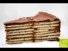 TARTA DE GALLETAS CON CHOCOLATELa Cocina Pistacho
