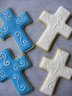 ..idk about y'all..but i'd feel bad eating a cross shaped cookie..haha aw well i shall repin this anyway!