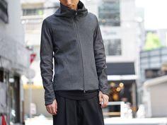 devoa carf leather / tasmanian beaver jacket style 01