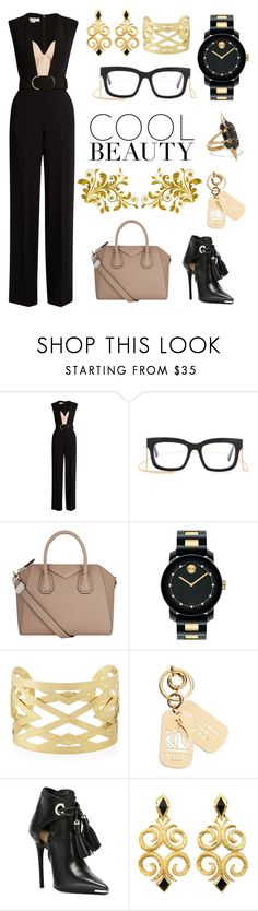 """Style is my second name"" by belen-cool-look ❤ liked on Polyvore featuring STELLA McCARTNEY, Givenchy, Movado, Panacea, Lanvin, Barbara Bui and Noir Jewelry"