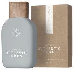 Authentic Hero by Mary Kay Mary Kay Perfume, Mark Kay, Mk Men, Perfume Logo, Imagenes Mary Kay, Mary Kay Brasil, Mary Kay Ash, Skincare Packaging, Mary Kay Cosmetics