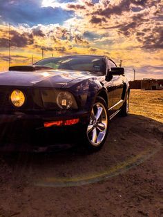 Change up on the Mustang