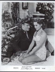 JOHN WAYNE AND JANET LEIGH