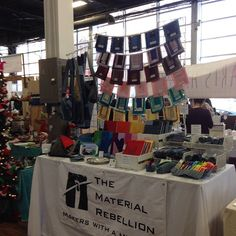 Good morning Brooklyn! Let's get some Christmas on! #materialRebel #BUSTcraftacular
