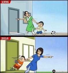 As coisas mudam