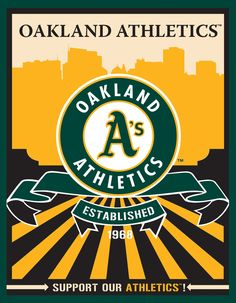 Oakland Athletics Speakman art (Target)