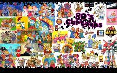 The 80s cartoons mashup