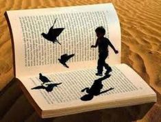Love this book art Good Night To You, Fb Quote, World Of Books, Magic Book, Book Images, Paper Dolls, Book Worms, Book Art, Stencils