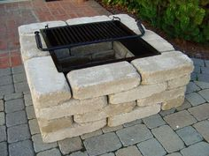 square fire pits | Square Fire Pit Kit from Southern Tradition