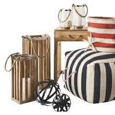 Threshold Coastal Decor 25% off assorted styles on #Cartwheel by Target!