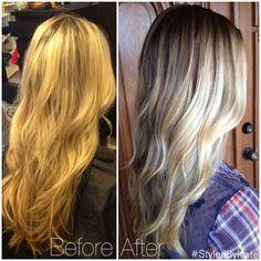 low maintenance blonde hair - Google Search