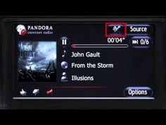 Premium HDD Navigation with Entune® - Pandora