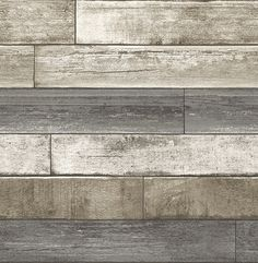 Product Description Weathered Plank Grey Wood Texture 2701-22345 Wallpaper -Taking inspiration from warm and earthy shades of the nature's pallet, this weathered wallcovering will give your home an in
