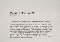 """""""Pain in Love"""" is good... It's like a Nectar... Which I think everyone drinks in some or other way... But yes its a part of Love..."""