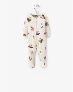 BABY Unisex Babygrow Featuring a Quentin Blake illustration and crafted from super soft cotton, this delightful babygrow comes with another benefit too, 5% of the sale from each product of this collection will be donated to the Farms for City Children Charity.