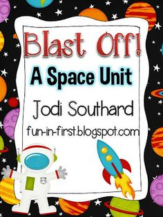 Fun in First Grade: My Space Unit is Updated