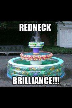 Redneck fountain!