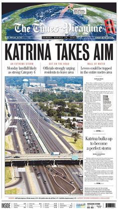 KATRINA ♦ 28.08.05 -  The Times-Picayune