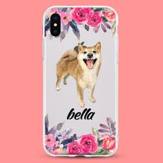 10 customizable products for anyone whose best friend is their dog like this phone case. 10 customizable products for anyone whose best friend is their dog like this phone case. Watercolor Paintings Of Animals, Cute Paintings, Animal Paintings, Dog Lover Gifts, Dog Lovers, Personalized Phone Cases, Personalized Gifts, Dog Phone, Diy For Men