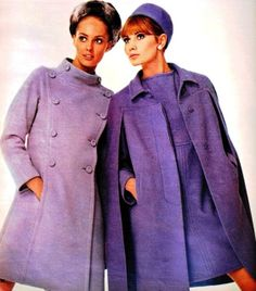 Suzy Smith and Maud Adams, Petra (Germany) Sept 1966