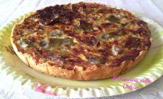 Crostata carciofi panna, torta salata