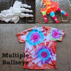 Doodlecraft: Tulip Tie Dye T-shirt Party!