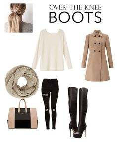 """""""Winter"""" by niqueja ❤ liked on Polyvore featuring Topshop, Chinese Laundry, John Lewis and Miss Selfridge"""