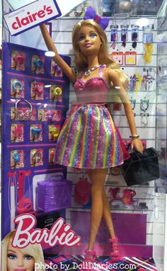 Claire's Barbie doll