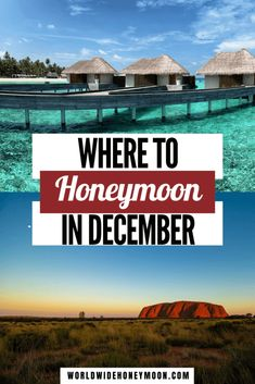 These are the best honeymoon in December destinations | Best December Honeymoon Destinations | Best Honeymoon Destinations in December | Where to Honeymoon in December | December Honeymoon Ideas | Winter Honeymoon Destinations | Winter Honeymoon Ideas | Winter Honeymoon USA | Where to Honeymoon in January | Europe Honeymoon Destinations | Honeymoon Destinations North America | Africa Honeymoon Destinations | Australia Honeymoon | New Zealand Honeymoon Ideas | Southeast Asia Honeymoon Best Honeymoon Destinations, Honeymoon Places, Romantic Destinations, Honeymoon Ideas, Amazing Destinations, Travel Destinations, Romantic Escapes, Romantic Travel, Travel Couple
