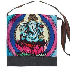 Ganasha Graphic Print Messenger Bag Get Educated, Retail Shop, Love And Light, Graphic Prints, Drawstring Backpack, Messenger Bag, Bags, Purses, Totes