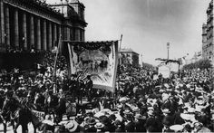 Melbourne eight hour day march-c1900 - Australian labour movement - Wikipedia