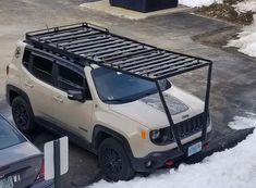 my suv roof rack Camper Boat, Truck Camper, Jeep Cj7, Jeep Rubicon, New Suzuki Jimny, Accessoires 4x4, New Audi Car, Best Cars For Teens, Truck Tent