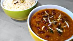 Rajma (Kidneybohnen-Curry) Chili, Soup, Lunch, Dinner, Glutenfree, Lunch Ideas, Easy Meals, Chef Recipes, Food Food