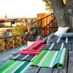 alfombras en terrazas urbanas - Buscar con Google