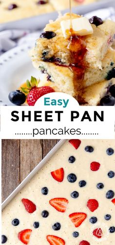 Simply Recipes, Other Recipes, Simply Food, Homemade Pancakes, Homemade Breakfast, Brunch Recipes, Breakfast Recipes, Dessert Recipes, Easy Desserts