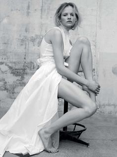Ginta Lapina's Purity Test By Santiago & Mauricio For L'Express Styles February 25,2015 - 3 Sensual Fashion Editorials   Art Exhibits - Women's Fashion & Lifestyle News From Anne of Carversville