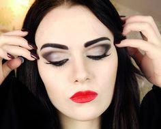 morticia addams makeup - Google Search