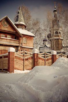 Old Believer's Church in Tomsk \ Старообрядческая церковь в Томске