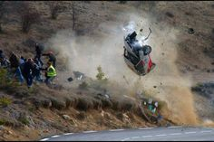 Rally wreck #dangeroussport