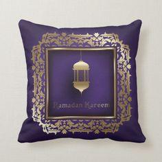 Shop Ramadan Al Adha and Fitr Throw Pillow created by SimplyLOVELYsweet. Ramadan Gifts, Custom Pillows, The Neighbourhood, Throw Pillows, Make It Yourself, Fabric, Color, Mugs, Design