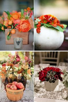october rustic wedding decorations | ... inspiration, wedding ideas wedding flowers ideas and trends