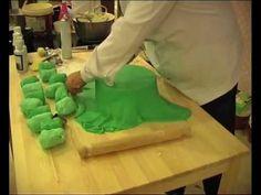 Tutorial Cake Design n°2: gli animaletti sul prato